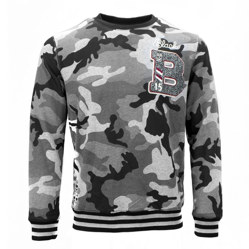 Grijs sweater Black and Gold army Roeselare
