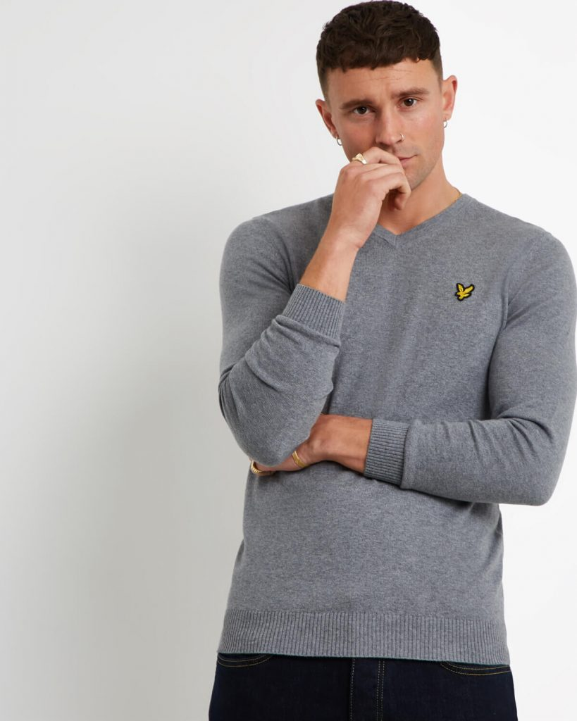 sweater grijs Lyle and Scott Roeselare